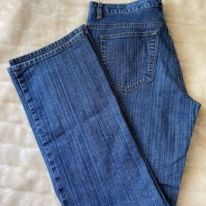 DKNY Straight Leg Jeans Medium Wash